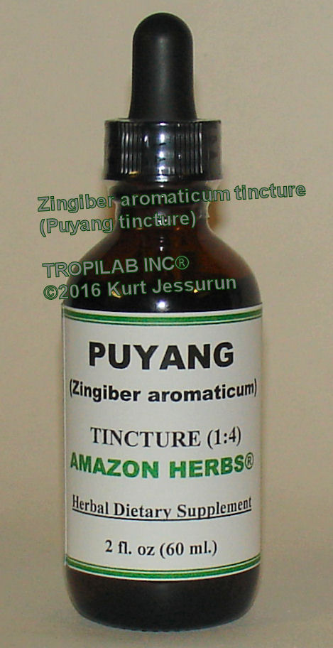 Zingiber aromaticum-Puyang tinture, only for US$18.65 per 2 fl oz. It has high potential in preventing and controlling