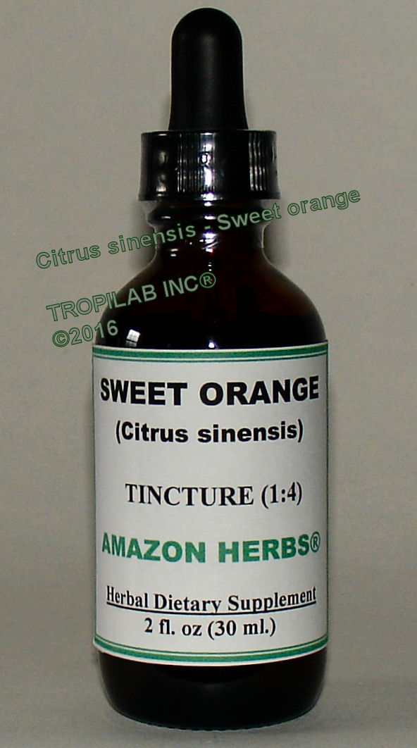 Citrus sinensis (Sweet orange) tincture